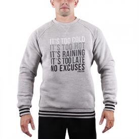 TW SWEATSHIRT 013 NO EXCUSE