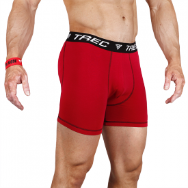 TW BOXER SHORTS 003 RED