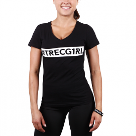 TW T-SHIRT TRECGIRL 003 BLACK