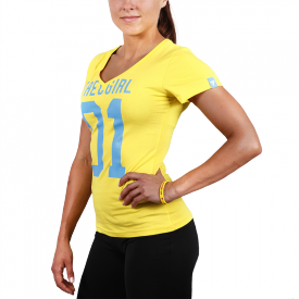 TW T-SHIRT TRECGIRL 004 LEMON